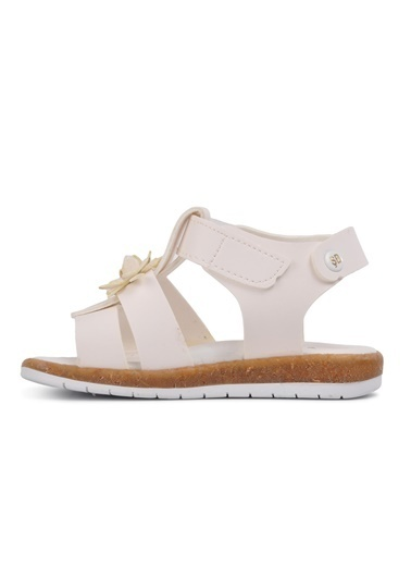 Şiringenç 210104 Sedef Comfort Kız Çocuk Sandalet Beyaz